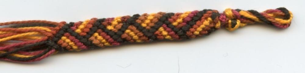 Le second bracelet brésilien en rond, (2/4)