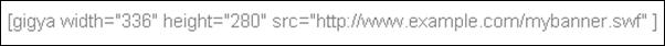 Pour mettre une créa en flash perso sur le blog (bis)