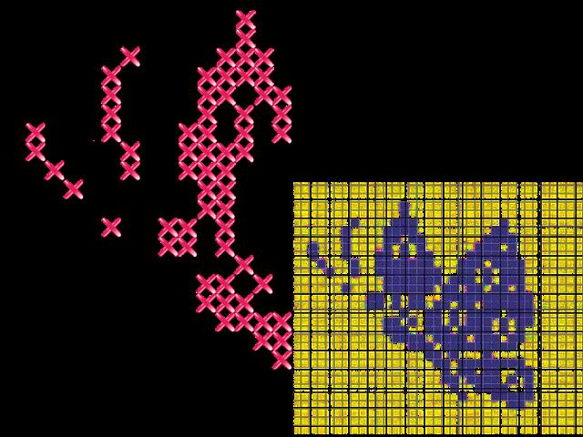 toile AÏDA 800-600''