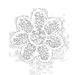 fleur à coudre
